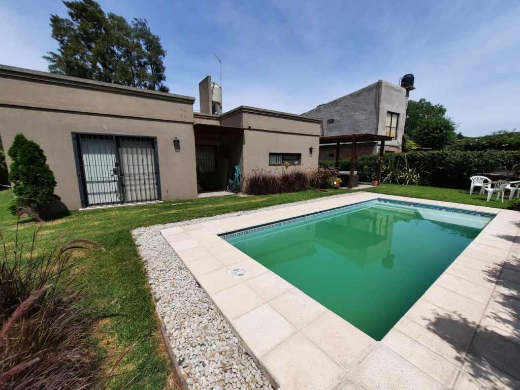 GIN - Grupo Inmobiliario Norte:  Venta Casa con pileta, Barrio LA ALBORADA, Pilar, Zona Htal Austral